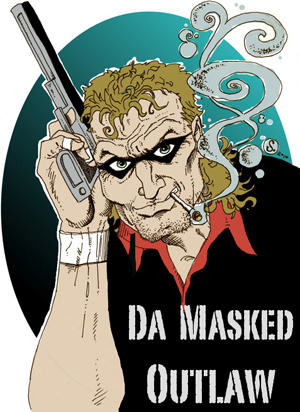 Da Masked Outlaw, drawn by Cody Schibi